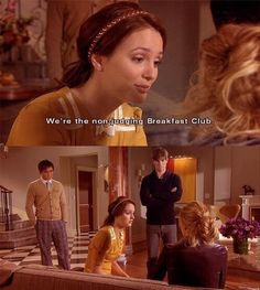 "We're the non-judging breakfest club""-- Blair Waldorf"