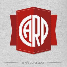 CLUB ATLETICO RIVER PLATE by Andres Castro, via Behance