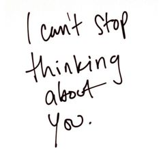 You are always on my mind <3