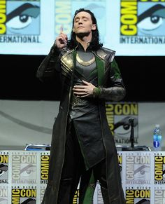 just a thought..... What if someone got a picture of Tom getting ready? Only in the Loki pants. What a wonderful world that would be.