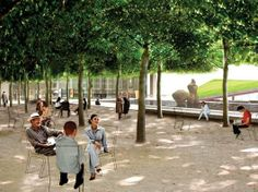Lincoln Center New York - a park with a purpose.