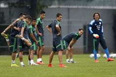 Foto de los integrantes de la selección mexicana de fútbol en la práctica del miércoles   Ver foto - Yahoo Deportes