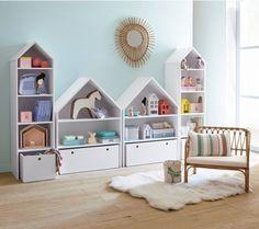 Комбинированные полки для хранения книг и игрушек