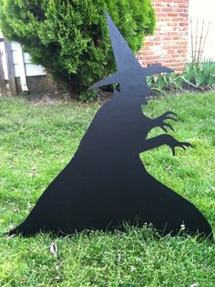 Halloween Silhouettes - Wicked witch of the West