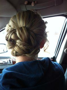 My formal hair :)