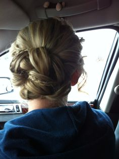 My formal hair :)