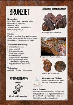 Bronziet - uitleg en werking - Gaia sieraden