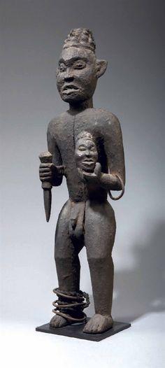 Bangwa Lefem Figure, Cameroon http://www.imodara.com/item/cameroon-bangwa-lefem-royal-ancestor-figure/