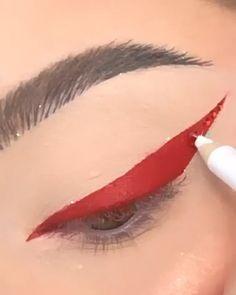 Makeup Eye Looks, Creative Makeup Looks, Eye Makeup Art, No Eyeliner Makeup, Makeup Inspo, Makeup Inspiration, Beginners Eye Makeup, Makeup Trial, Eye Makeup Designs