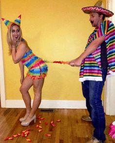 Pinata couple costume