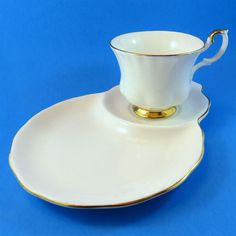 Royal Albert Val D'or Tea Cup & Saucer Tennis Snack Set | Pottery & Glass, Pottery & China, China & Dinnerware | eBay!