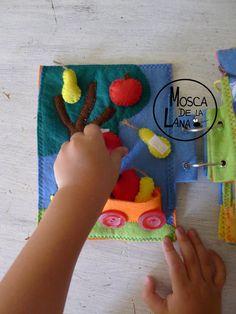 LIBRO SENSORIALE giochi e attività ensoriales di moscadelalana