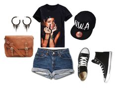 """""""Untitled #3760"""" by browneyegurl ❤ liked on Polyvore featuring Converse and Michael Schmidt"""