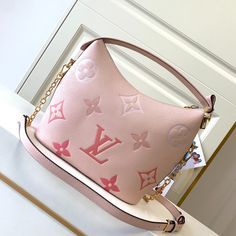 Louis Vuitton Monogram Empreinte Marshmallow Hobo Bag LV M45697 - Louis Vuitton Handbags Lv Handbags, Louis Vuitton Handbags, Louis Vuitton Monogram, Hobo Bag, Marshmallow, Louis Vuitton Purses, Marshmallows, Louis Vuitton Bags