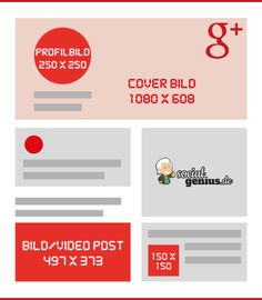Google Plus Bildgrößen