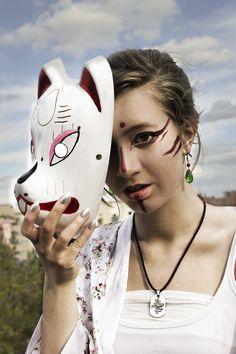 Kitsune makeup