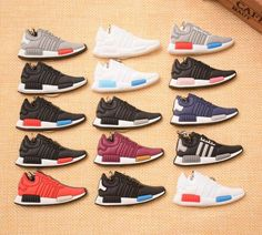 dcca5c412 Mini Adidas NMD Key Chains - 14 Colorways Available Nmd Sneakers