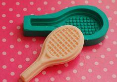 Molde de silicone - Raquete de Tênis.   Arte de Modelar   Elo7