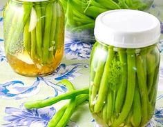 18 Green Bean Recipes, Including Stir Fries & Salads! - Dr. Axe Sin Gluten, Gluten Free, Quick Refrigerator Pickles, Pickled Green Beans, Pickled Eggs, Dilly Beans, Sauce Creme, Homemade Pickles, Green Bean Recipes