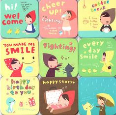 Pony Brown, a super-cute Korean stationery brand.