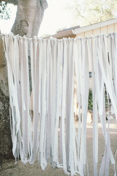 #streamers Photography by paperantler.com  Read more - http://www.stylemepretty.com/2013/04/03/carmel-valley-wedding-from-paper-antler/