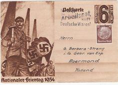 Briefkaart Nationaler Feiertag 1934