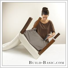 How To Re-Cover a Dining Chair Part 5 by Build Basic - Step 1
