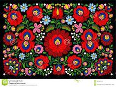 Image result for hungarian folk art patterns