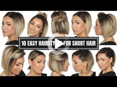67 Pixie Hairstyles and Haircuts in 2019 - Hairstyles Trends Short Thin Hair, Short Hairstyles For Thick Hair, Mom Hairstyles, Short Hair Styles Easy, Long Wavy Hair, Undercut Hairstyles, Short Hair Cuts, Makeup For Short Hair, Haircuts