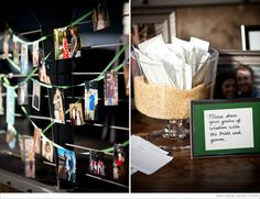 Cute idea - leave inspiration for the new couple