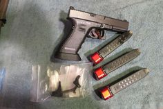 Glock G17 competition ready