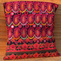 Kutch Embroidered Cushion