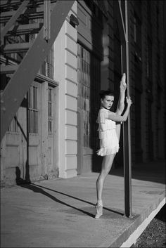 """""""Kiira Koval"""" Irina Dvorovenko - Industry City, Brooklyn """"Flesh and Bone"""" is a brand new limited series set in a ballet company in NYC from EMMY award winning writer Moira Walley-Beckett. All episodes. Irina Dvorovenko, George Balanchine, Ballet Companies, Ballerina Project, Athletic Body, Ballet Photography, Photography Ideas, All Episodes, Ballet Beautiful"""