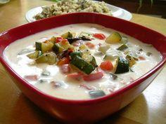 veggie corn raita recipe