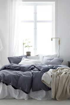 'Minimal Interior Design Inspiration' is a weekly showcase of some of the most perfectly minimal interior design examples that we've found around the web - all Small Room Bedroom, Master Bedroom Design, Home Bedroom, Bedroom Decor, Interior Design Examples, Interior Design Inspiration, Design Ideas, Modern Interior, Bedroom Inspiration