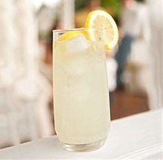 Garrick Club Punch (lemon, gin, Maraschino, soda)