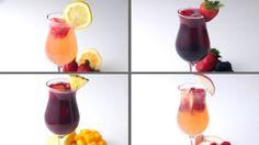 Strawberry Lemonade Sangria Servings: 6-8 INGREDIENTS 2 pounds strawberries, sliced 1 lemon, sliced 1 bottle white wine 1 cup white rum 4 cups lemonade 2 cup...