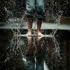 *~_dance in the rain_~* Movement Photography, Reflection Photography, Water Photography, Creative Photography, Digital Photography, Portrait Photography, Photography Lighting, Photography Camera, Aerial Photography