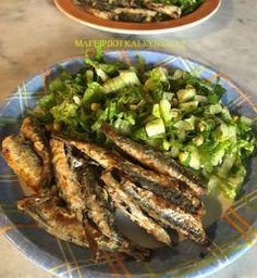 Δοκιμάστε τα έτσι και ...καταργείτε το βλαβερό τηγάνισμα -γίνονται τέλεια !!! Υλικά Λαδόκολλα 1 κιλό γάβρο ή σαρδέλα -εγώ έβαλα μισό ... Cookbook Recipes, Cooking Recipes, Healthy Recipes, Greek Recipes, Fish Recipes, Fish And Seafood, Green Beans, Good Food, Food And Drink