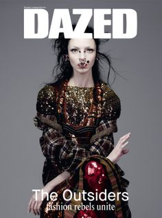 SPRING/SUMMER 2014: Mariacarla Boscono fronts the spring/summer 2014 OUTSIDERS issue of DAZED, shot by Willy Vanderperre. Mariacarla is styled by Panos Yiapanis, in Givenchy by Riccardo Tisci. Read about the new issue here: http://www.dazeddigital.com/artsandculture/article/19547/1/dazed-spring-summer-2014