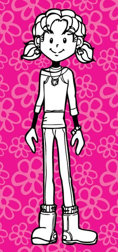 Nikki Maxwell's my favorite character in Dork Diaries because we both have a lot in common Dork Diaries Characters, Dork Diaries Books, Book Characters, Good Books, My Books, Elevator Music, Wimpy, Arte Disney, I Love Reading