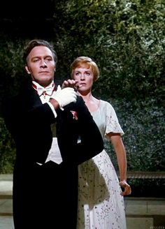 Christopher Plummer - Julie Andrews. Just watched this movie!