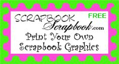 Cool site to print off graphics, etc for scrapbook -- make scrapbook with kids about summer?