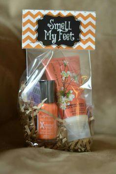Adult Holloween present- Smell My Feet