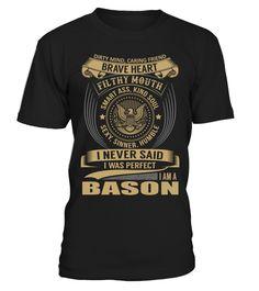 BASON - I Nerver Said