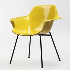 :: Pierre Guariche, fauteuil Vampire, Steiner, 1953 ::