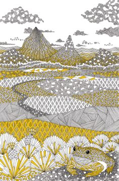 Millie Marotta Illustration - The Parabola Project