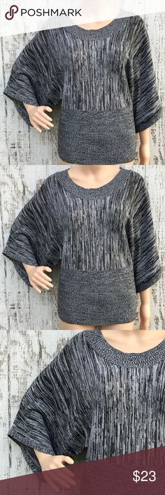 Brittany Black Charcoal Sweater Brittany Black Charcoal Sweater Like New Size Medium So Gorgeous❤️ Sweaters