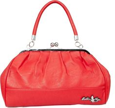 Bettie Mae Handbag (red) by Bettie Page - Bags