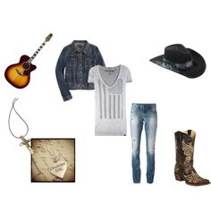 """""""Country"""" by disappeairinginq on Polyvore"""